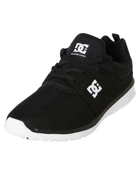 BLACK WHITE MENS FOOTWEAR DC SHOES SNEAKERS - ADYS700071BKW