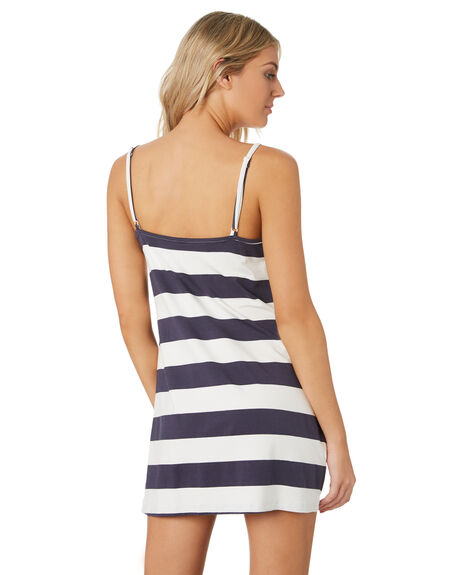 NAVY STRIPE WOMENS CLOTHING ALL ABOUT EVE DRESSES - 6444067NVYST
