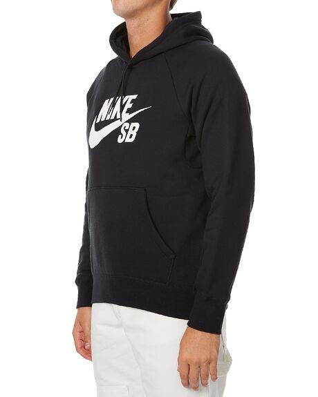 BLACK MENS CLOTHING NIKE JUMPERS - 846886010