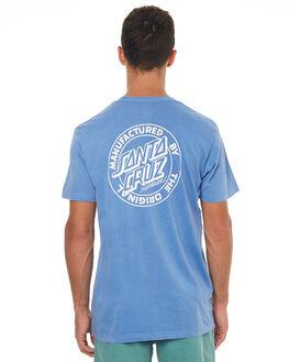 POWDER BLUE MENS CLOTHING SANTA CRUZ TEES - SC-MTD7647PBLU
