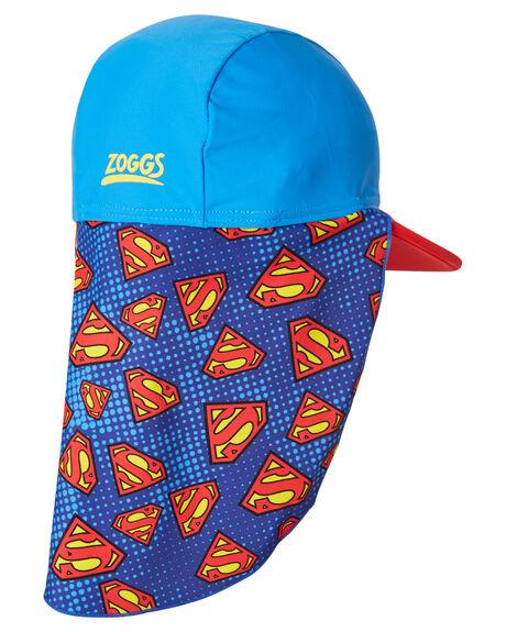 BLUE RED KIDS BOYS ZOGGS HEADWEAR - 7615186OSBLUR