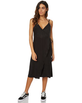 BLACK WOMENS CLOTHING THE HIDDEN WAY DRESSES - H8173445BLK