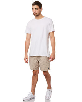 TAN SEAGULL MENS CLOTHING BARNEY COOLS BOARDSHORTS - 800-CR3TANSE