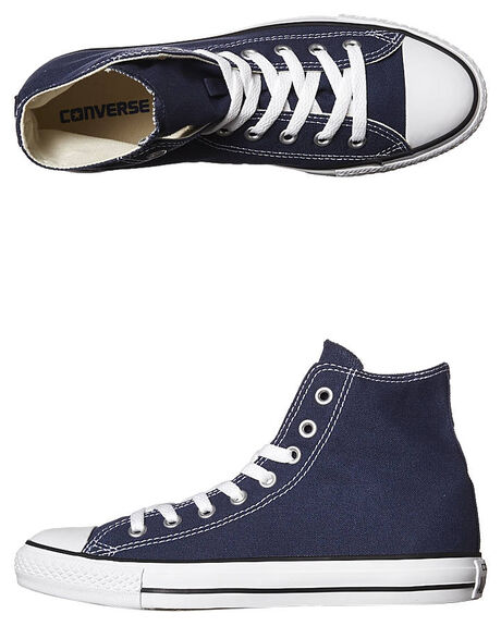 NAVY WOMENS FOOTWEAR CONVERSE SNEAKERS - SS19622NVYW