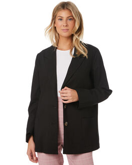 BLACK WOMENS CLOTHING THE FIFTH LABEL JACKETS - 40190427BLK