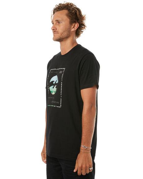BLACK MENS CLOTHING BILLABONG TEES - 9585014BLK