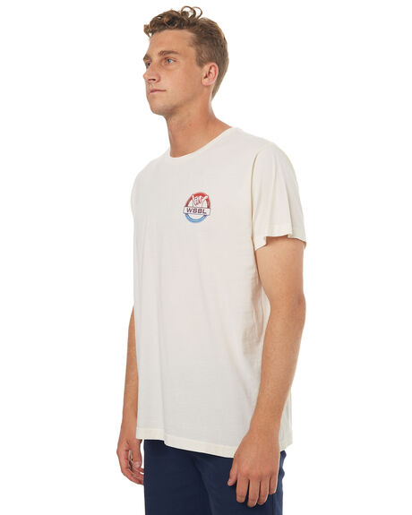 WHITE WASH OUTLET MENS CATCH SURF TEES - A6TEE032WHT