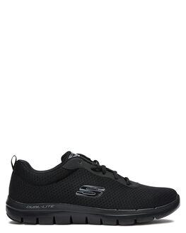 BLACK MENS FOOTWEAR SKECHERS SNEAKERS - 52125BBK