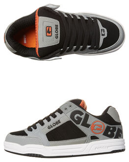 GREY BLACK MENS FOOTWEAR GLOBE SKATE SHOES - GBTILT-14211