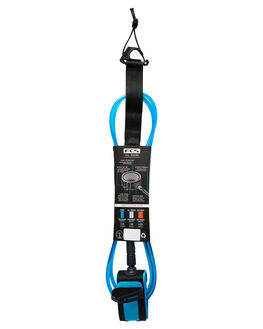 BLUE BLACK BOARDSPORTS SURF FCS LEASHES - EARA-BUB-06FBLUBK