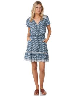 SLATE BLUE WOMENS CLOTHING RIP CURL DRESSES - GDRCK91115