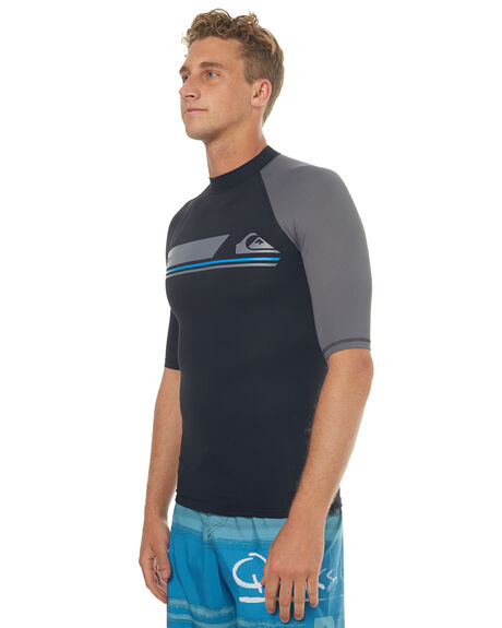 BLACK SURF RASHVESTS QUIKSILVER MENS - EQYWR03073KVJ0