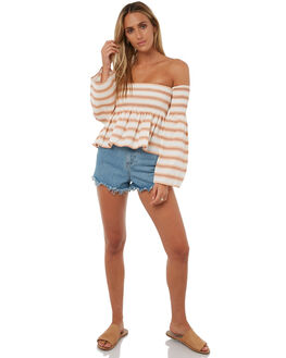 FREYA STRIPE WOMENS CLOTHING SWELL FASHION TOPS - S8182166FREYA