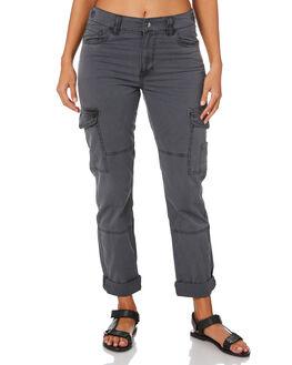 BLACK WOMENS CLOTHING SWELL PANTS - S8184193BLACK