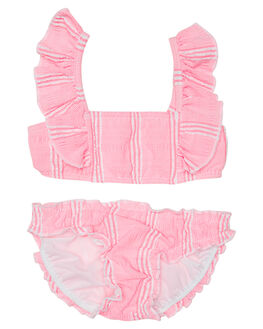 BLOSSOM PINK KIDS TODDLER GIRLS SEAFOLLY SWIMWEAR - 27035TBLSM