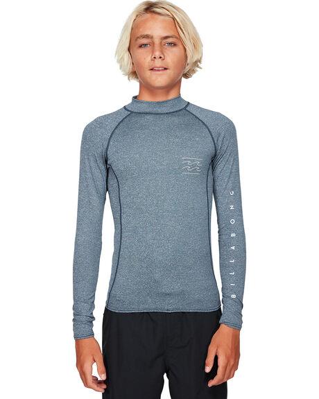 NAVY HEATHER BOARDSPORTS SURF BILLABONG BOYS - BB-8791504-N73