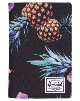 BLACK PINEAPPLE WOMENS ACCESSORIES HERSCHEL SUPPLY CO PURSES + WALLETS - 10399-01852-OSPINE