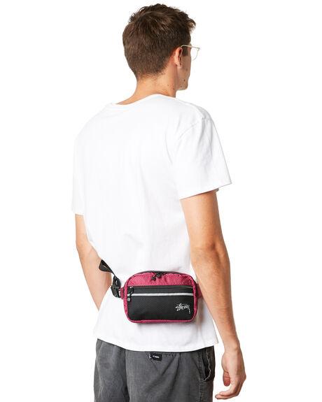 PLUM OUTLET MENS STUSSY BAGS + BACKPACKS - ST793014PLUM