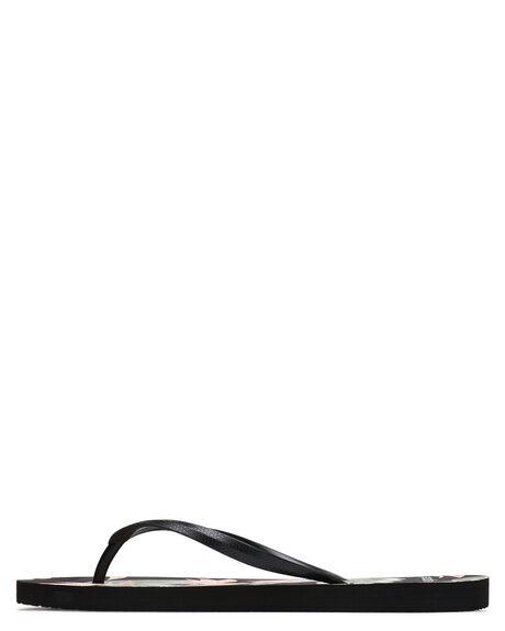 BLACK WOMENS FOOTWEAR RIP CURL THONGS - TGTF220090