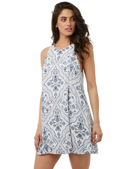 WHITE WOMENS CLOTHING TIGERLILY DRESSES - T385408WHITE