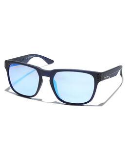 MATTE NAVY BLUE ION MENS ACCESSORIES DRAGON SUNGLASSES - 33611-415MNBI