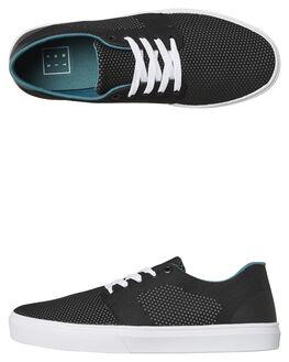BLACK MENS FOOTWEAR ETNIES SKATE SHOES - 4101000490BLK