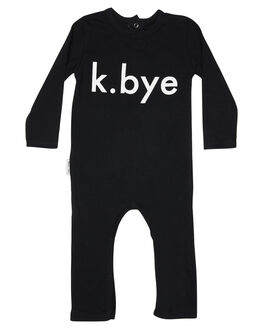BLACK WHITE KIDS BABY TINY TRIBE CLOTHING - TTW18-6024GBLKWH