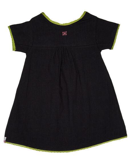 BLACK KIDS GIRLS MUNSTER KIDS DRESSES + PLAYSUITS - MM181DR02BLK