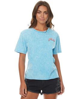 ATOMIC BLUE WOMENS CLOTHING RUSTY TEES - TTL0914ATB
