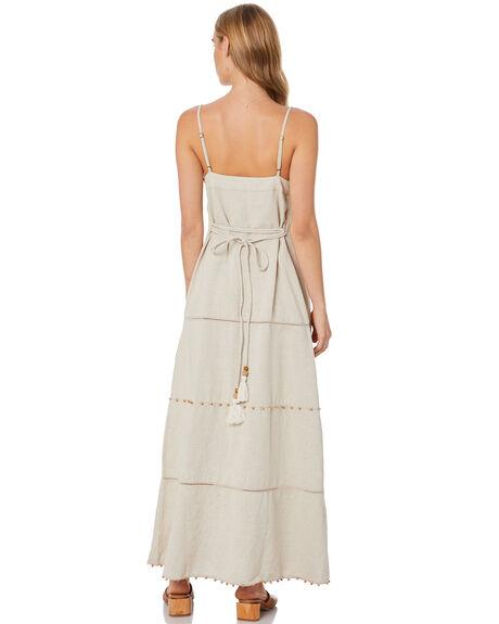 NATURAL WOMENS CLOTHING TIGERLILY DRESSES - T305402NAT