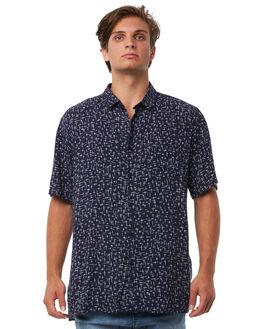 NAVY MENS CLOTHING ZANEROBE SHIRTS - 303-PRENAVY