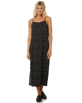 BLACK WOMENS CLOTHING SWELL DRESSES - S8188447BLACK