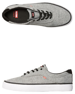 MOTTLED CHAMBRAY MENS FOOTWEAR GLOBE SKATE SHOES - GBSPROUT-19973