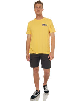 GOLD MENS CLOTHING KATIN TEES - TSSSWOR17GLD