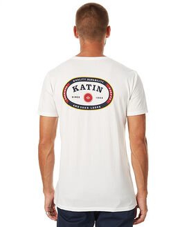 WHITE MENS CLOTHING KATIN TEES - TSALAH16WHT