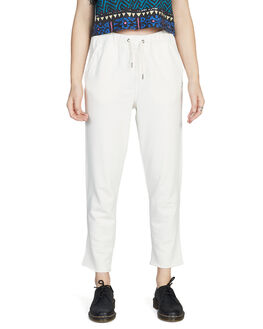 ANTIQUE WHITE WOMENS CLOTHING QUIKSILVER PANTS - EQWFB03001-WCL0
