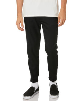 DIRTY BLACK MENS CLOTHING BANKS PANTS - PT0058DBLK