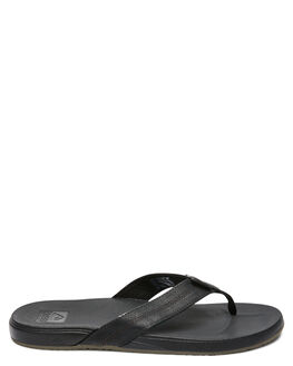 BLACK MENS FOOTWEAR REEF THONGS - A3FEZBLA