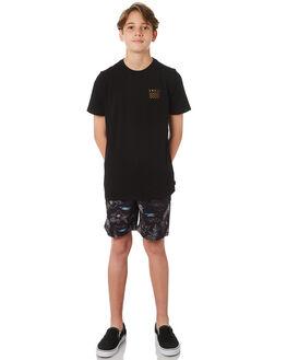 BLACK KIDS BOYS SWELL TEES - S3164001BLACK