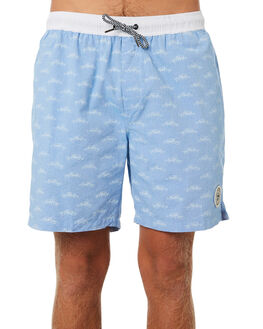 LIGHT BLUE MENS CLOTHING IMPERIAL MOTION BOARDSHORTS - 201901007013LIBLU