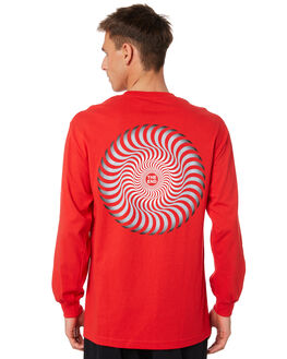 RED MENS CLOTHING SPITFIRE TEES - 52010016ORED