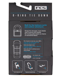 BLACK BOARDSPORTS SURF FCS BOARD RACKS - DR01-TIE-400BLK
