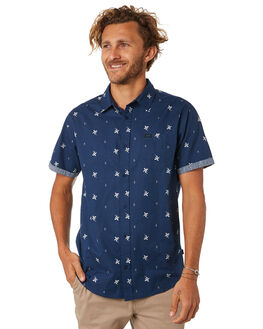 NAVY MENS CLOTHING RIP CURL SHIRTS - CSHKI10049