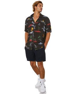 SLATE LINEN MENS CLOTHING BARNEY COOLS SHORTS - 611-Q120SLTL