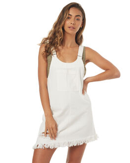 WHITE WOMENS CLOTHING SOMEDAYS LOVIN PLAYSUITS + OVERALLS - SL1706951WHT