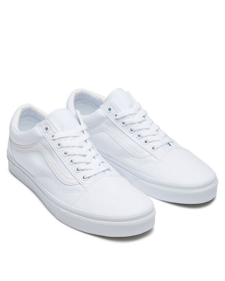 TRUE WHITE WOMENS FOOTWEAR VANS SNEAKERS - SSVN-0D3HW00WHIW