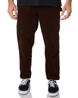 BROWN MENS CLOTHING OBEY PANTS - 142020139BRN