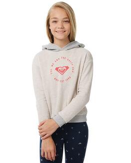 METRO HEATHER KIDS GIRLS ROXY JUMPERS - ERGFT03243TENH