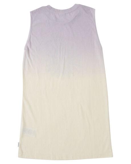 PURPLE FADE KIDS GIRLS SWELL DRESSES + PLAYSUITS - S6222442PRPFD