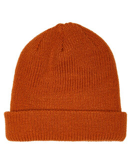 BURNT ORANGE MENS ACCESSORIES VOLCOM HEADWEAR - D5831510ORG